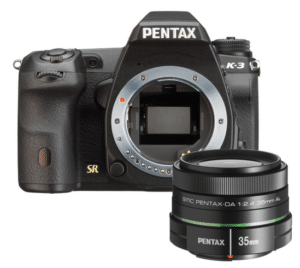 Pentax K3 35 mm