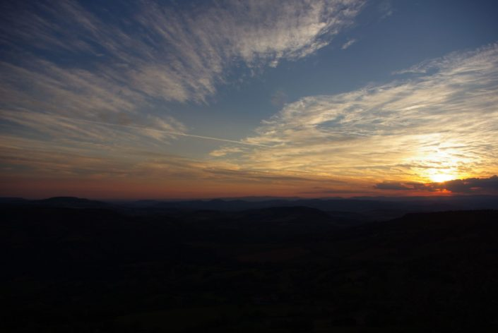 Sunrise Auvergne
