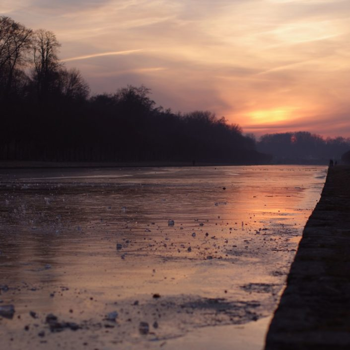 Fontainebleau Sunset