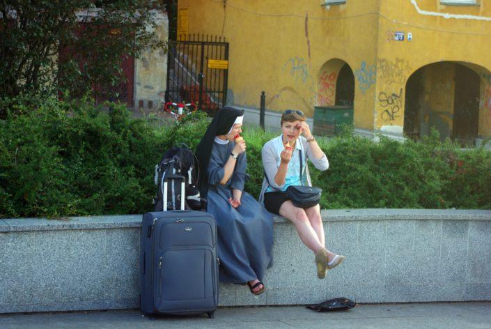 Voyage Interrail - Varsovie