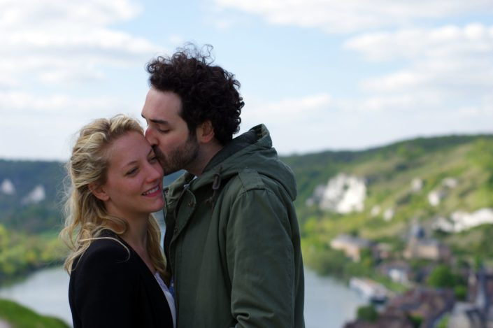 Guilaine & Léo - Séance d'engagement © Mllepix