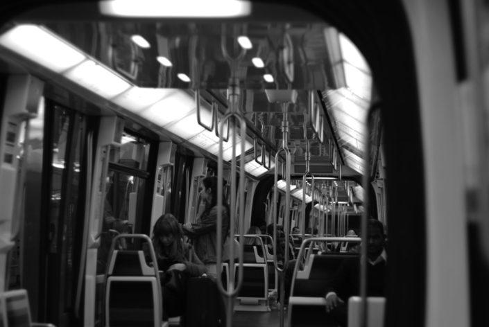 Parisian metro © Mllepix