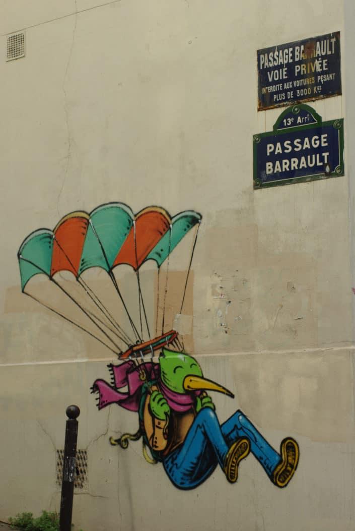 Butte aux Cailles - Paris - Street-art 2016 © Mlepix