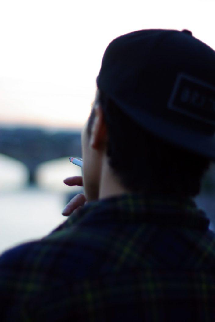 Portrait - Smoker © Mllepix