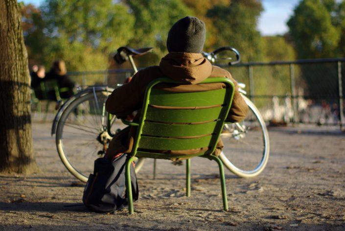 Portrait - Jardin des Tuileries © Mllepix