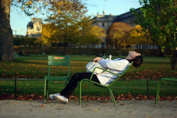 Portrait - Jardain des Tuileries © Mllepix
