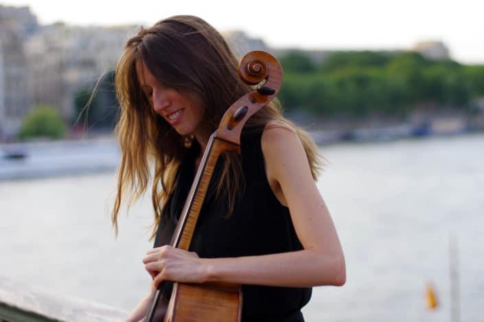 Violette Descamps - Violoncelliste © Mllepix