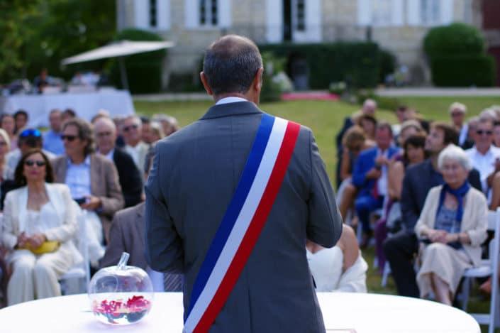 Mariage E&JP - 02/09/17 - Cadaujac - Cérémonie civile © Mllepix