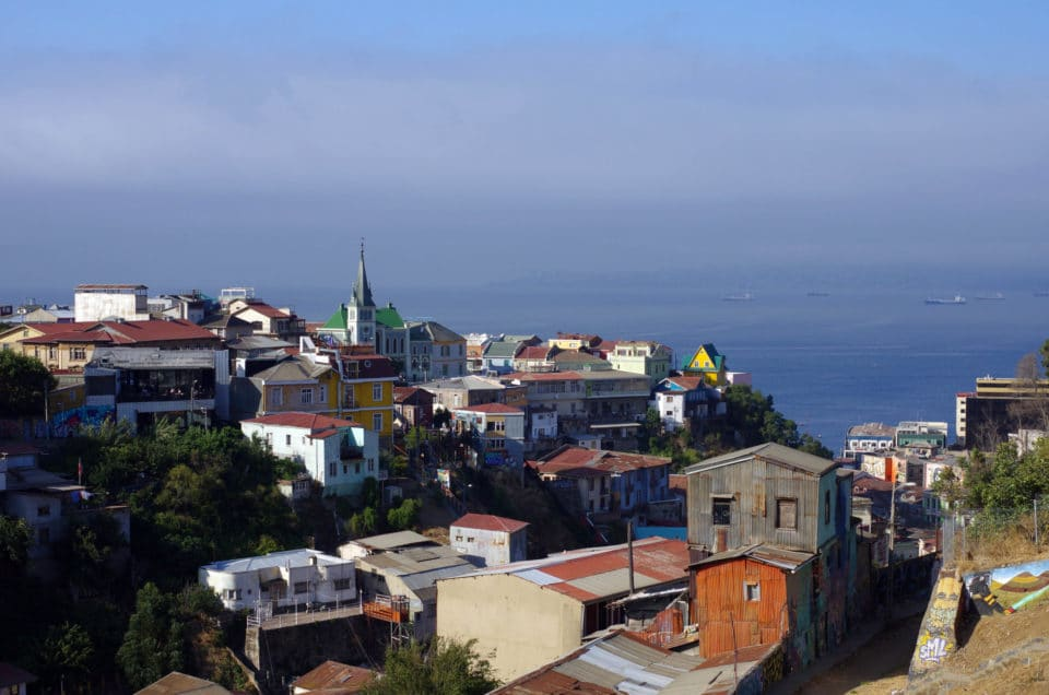 Valparaiso, the city of street-art, dogs and stairs