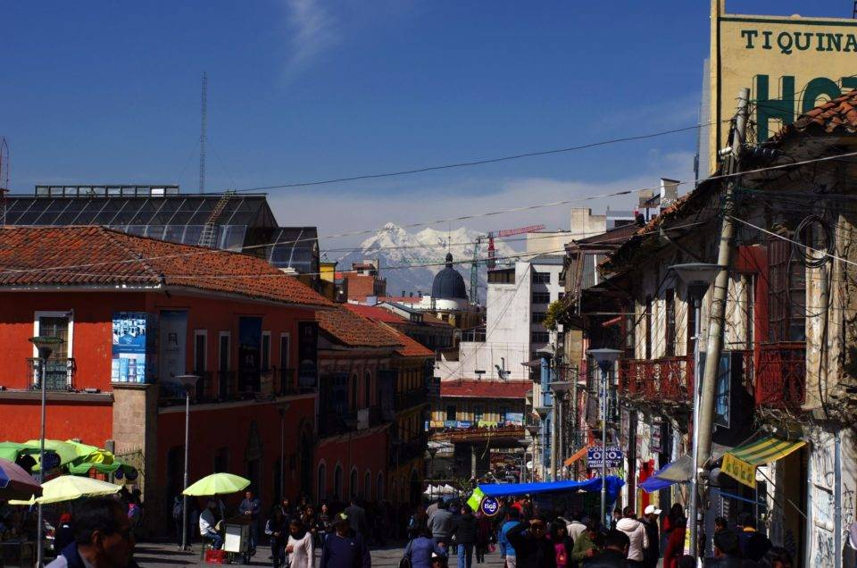 La Paz, Death Road and la Cumbre