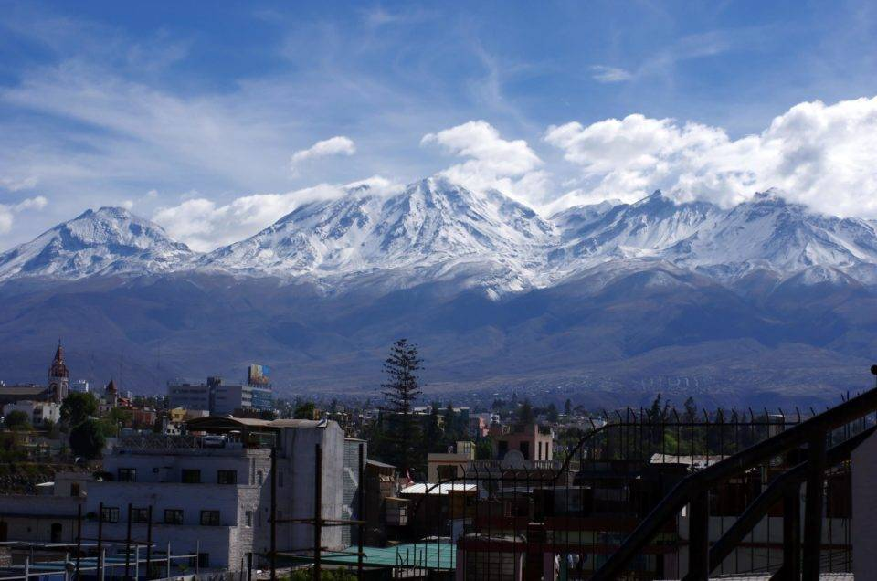 Arequipa, the famous white city