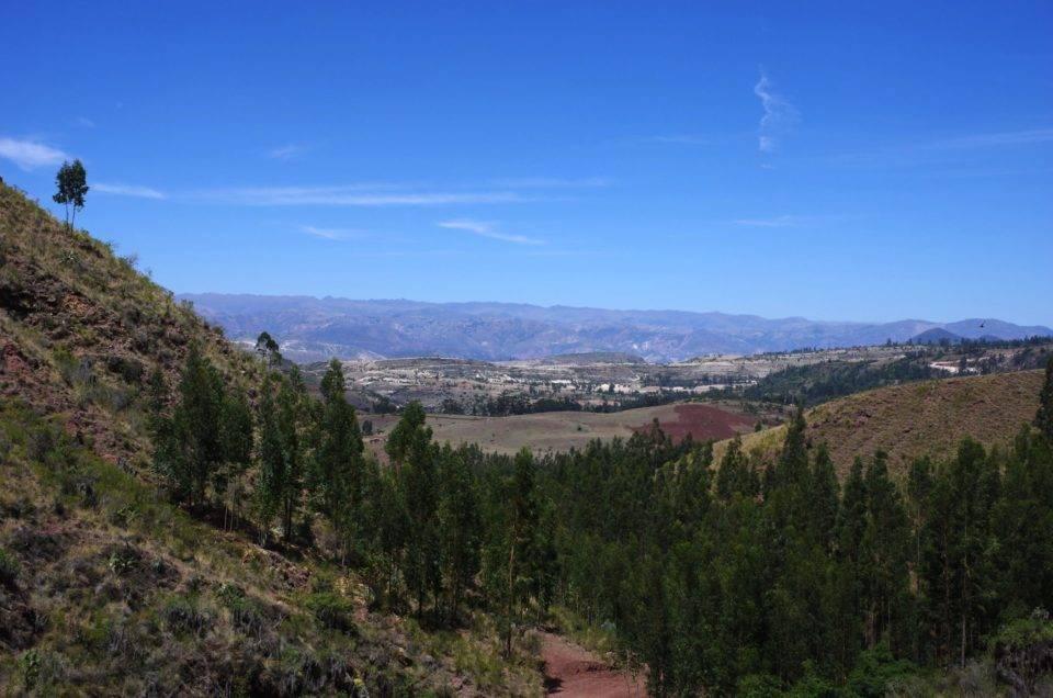 La région ensoleillée d'Ayacucho