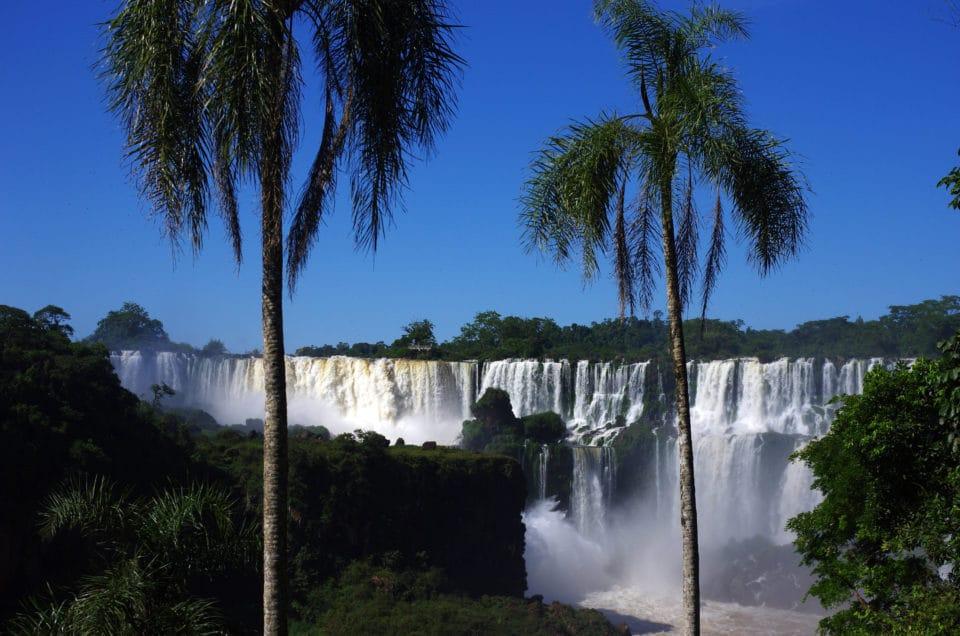 The spectacular Iguazú Falls