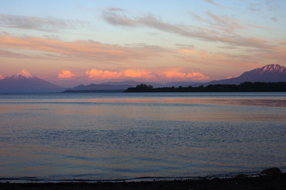 Sunset - Puerto Varas © Mllepix