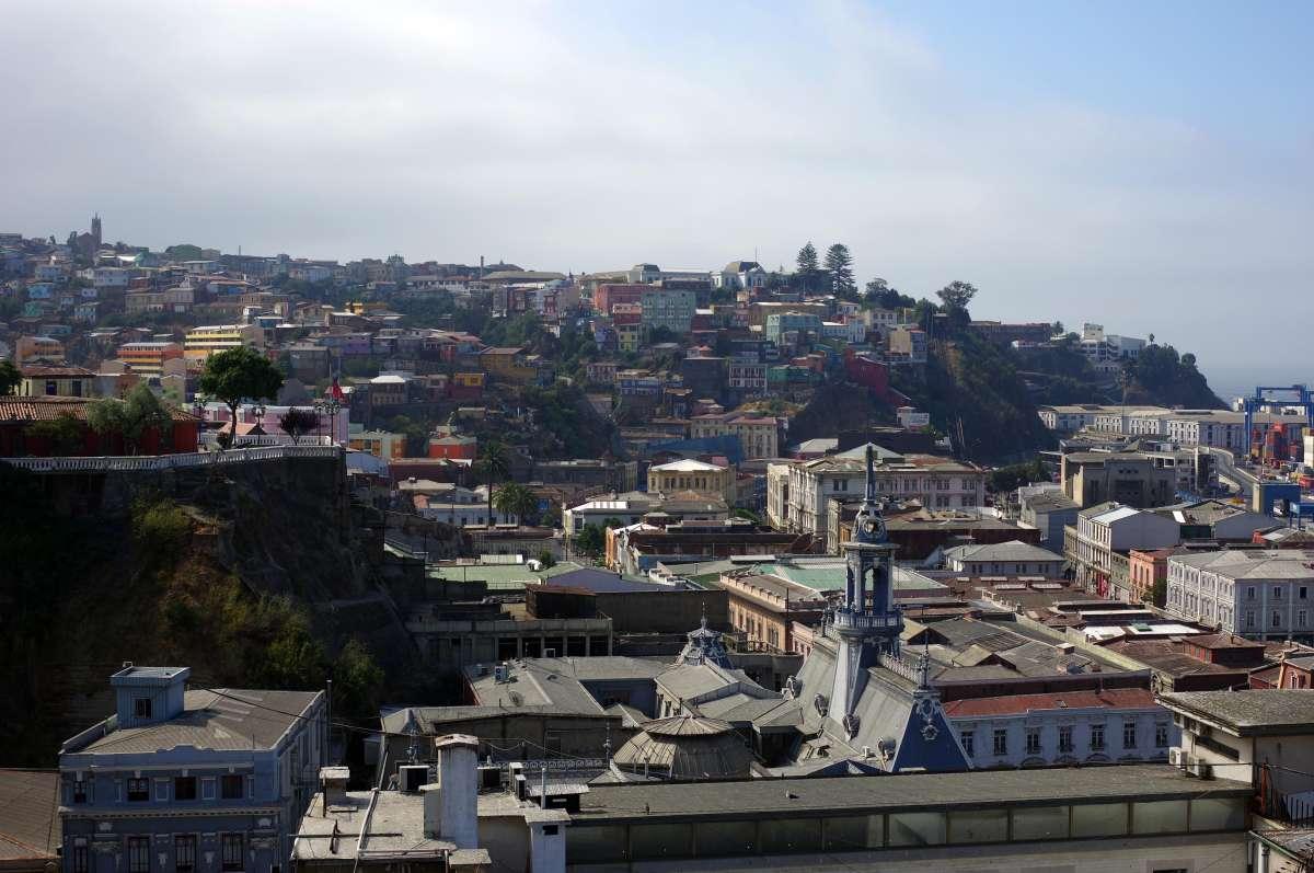Cerro Alegre - Valparaiso © Mllepix