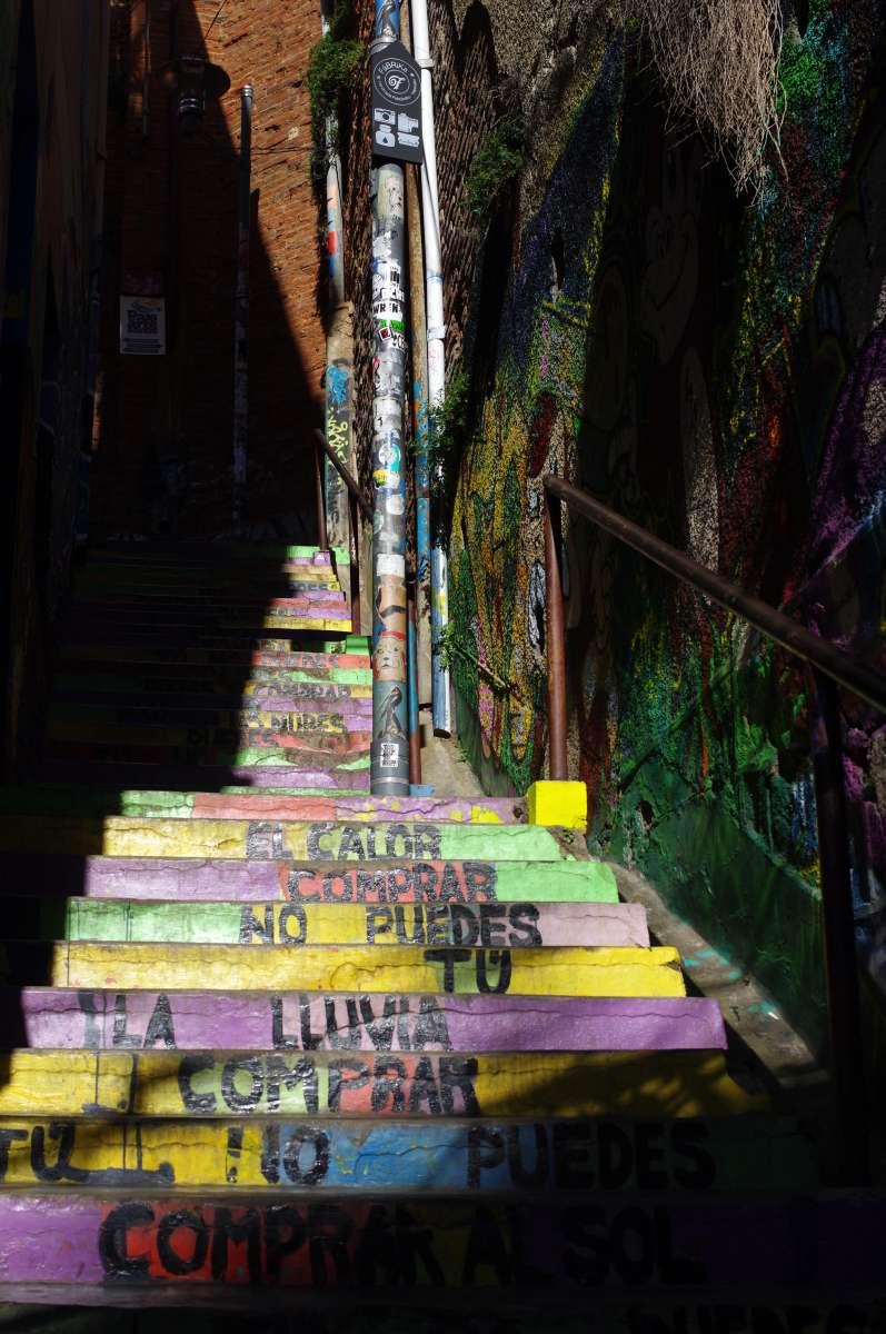Stairs - Valparaiso © Mllepix