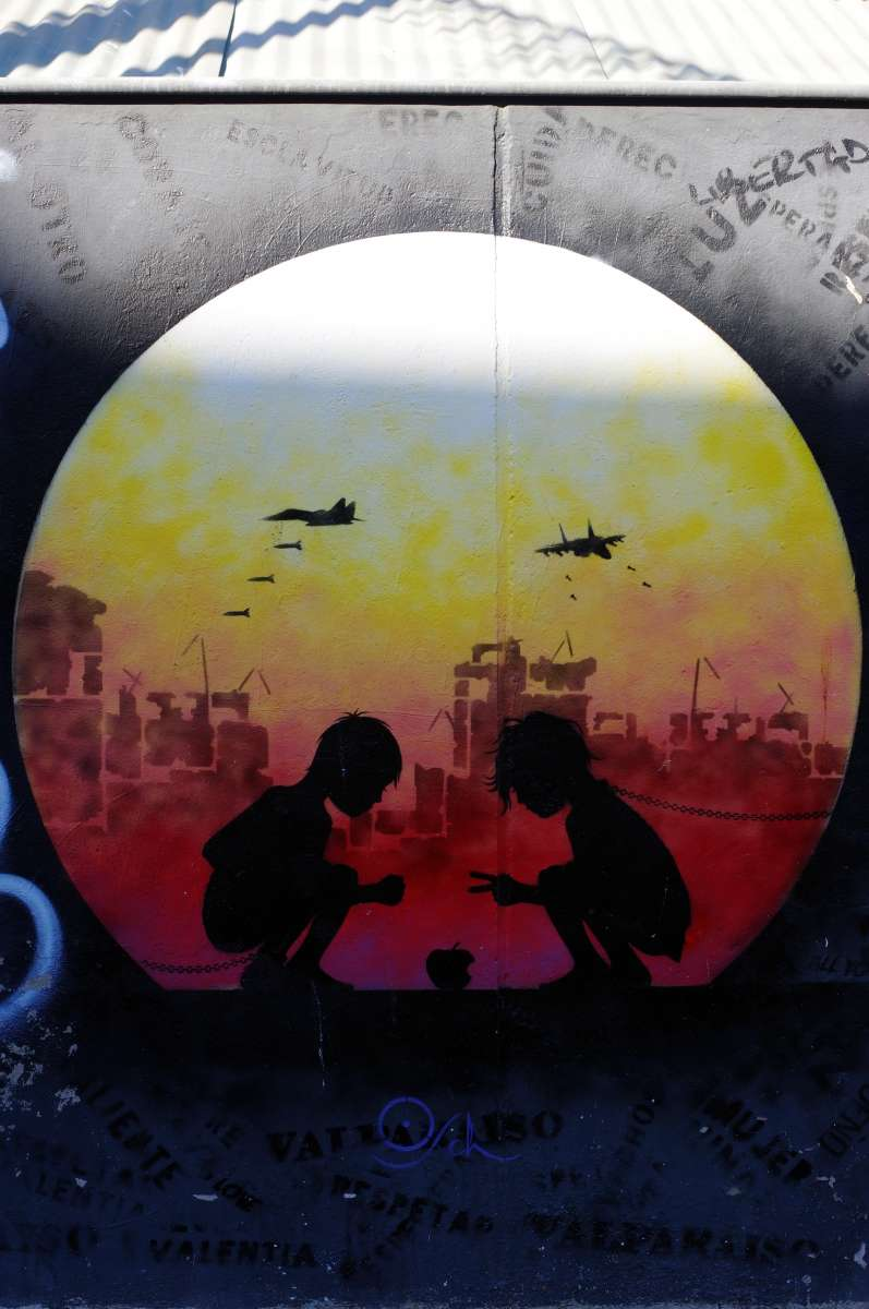 Street-art - Valparaiso © Mllepix