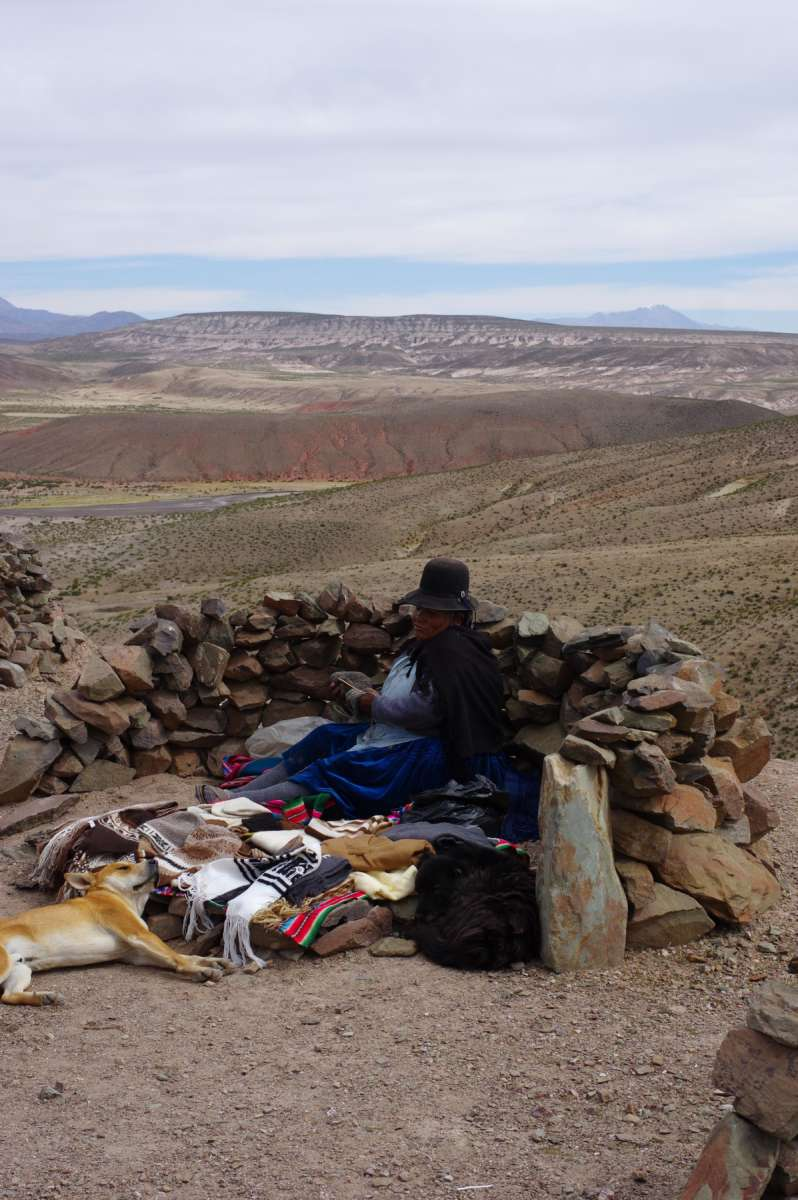 Pueblo fantasma - Sud Lipez - Bolivia © Mllepix