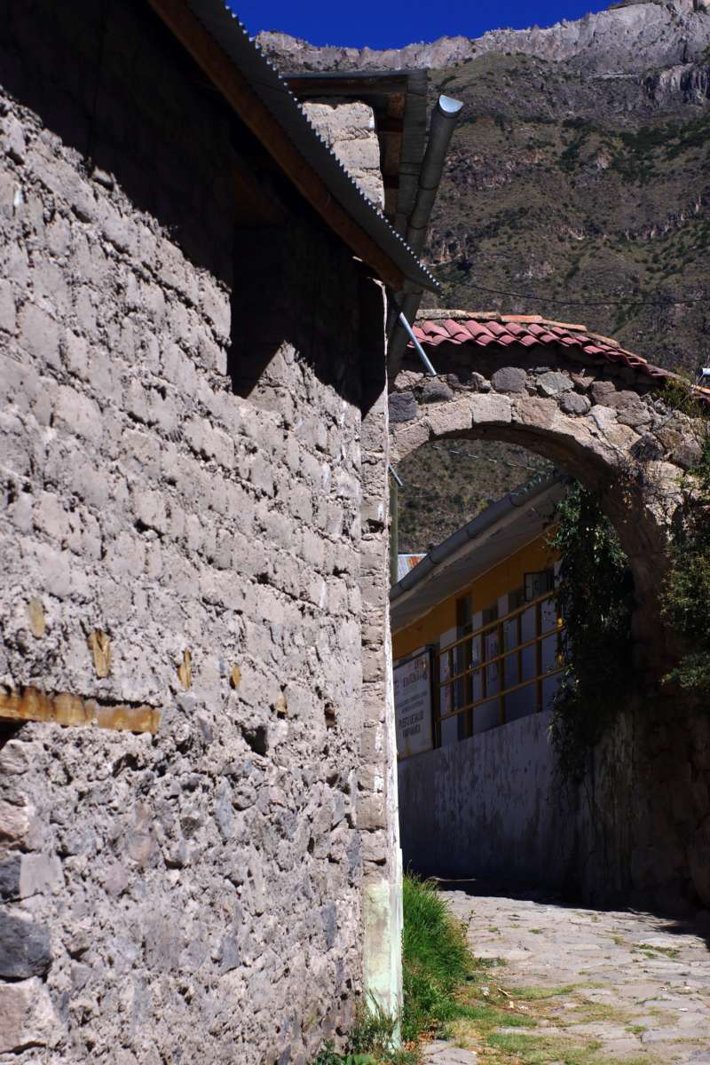 Pampamarca - Cañon de Cotahuasi - Peru © Mllepix