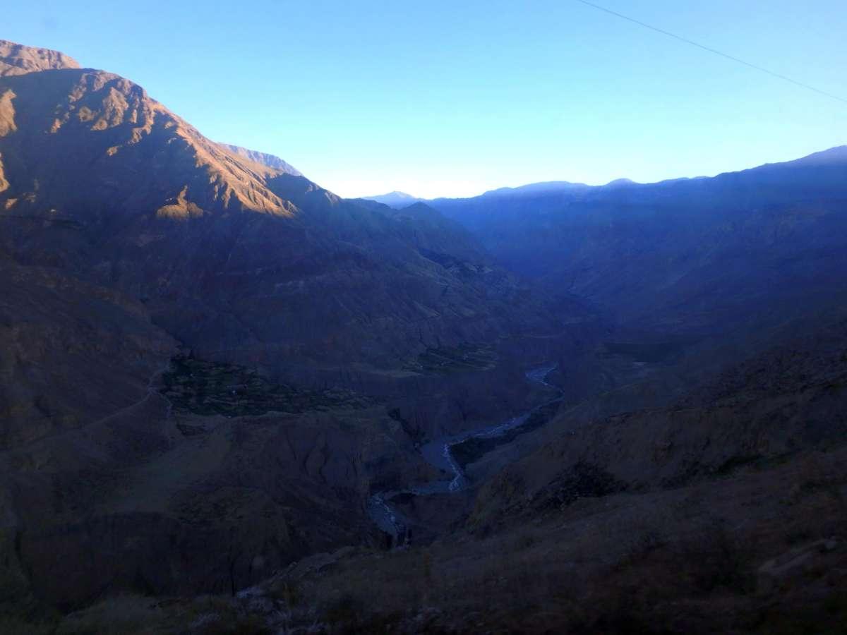 Charcana - Cañon de Cotahuasi - Peru © Mllepix